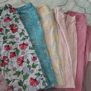 5 pairs of tween Lularoe leggings